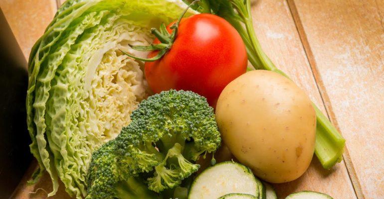 Intolleranza al nichel e verdure