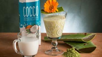 ESTRATTO Erba d'orzo., latte di cocco., polpa di cocco aloe fresca (2)