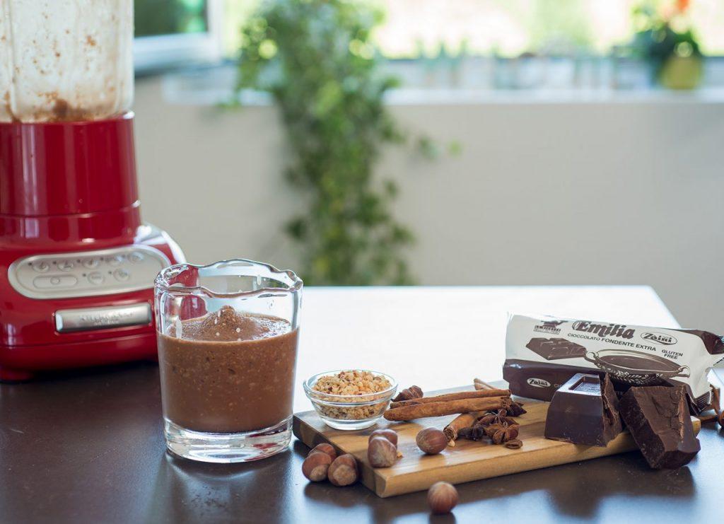 Granita al cioccolato e nocciole