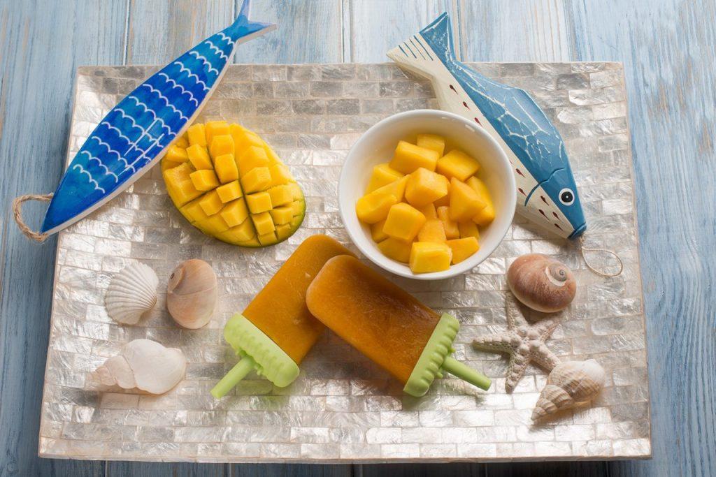 ghiaccioli al mango