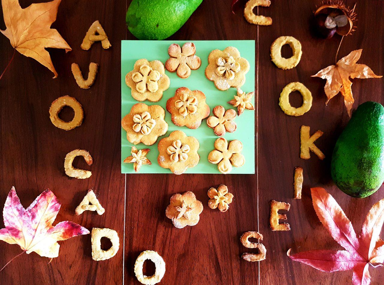 Biscotti all avocado a merenda