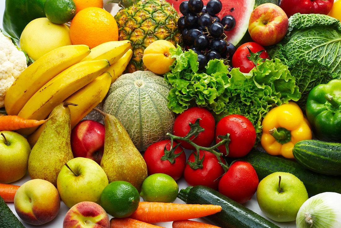 dieta senza frutta e verdura