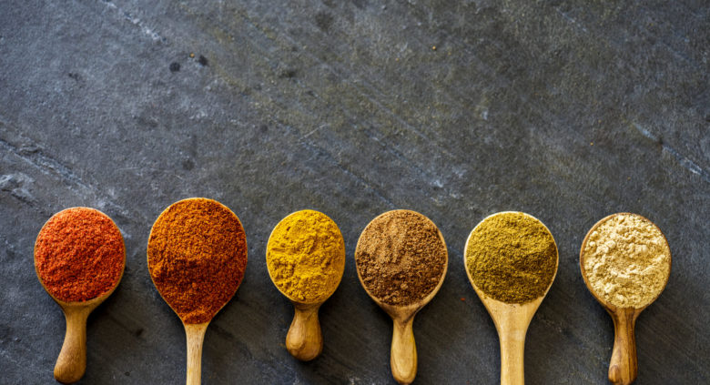 senape e curry